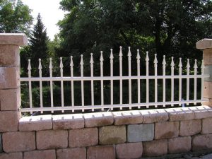 Schmiedeeisen Zaun & Tor